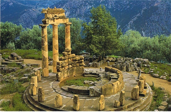 "Tourist promotion of Ancient Greek site of Delphi through filming ""Siege"""