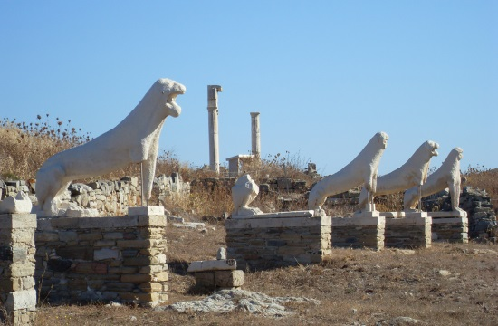 Green light to Canellopoulos Foundation grant for restoring Delos island monuments