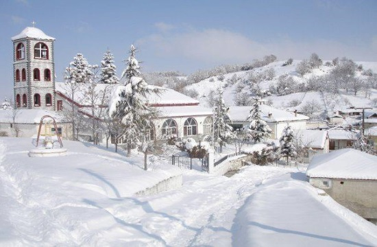 Strong frost expected during the night in northern Greece