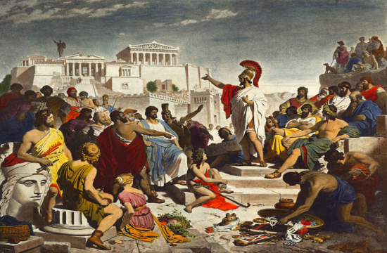 Media report: The Ancient Greek ideals that inspired US Independence (video)