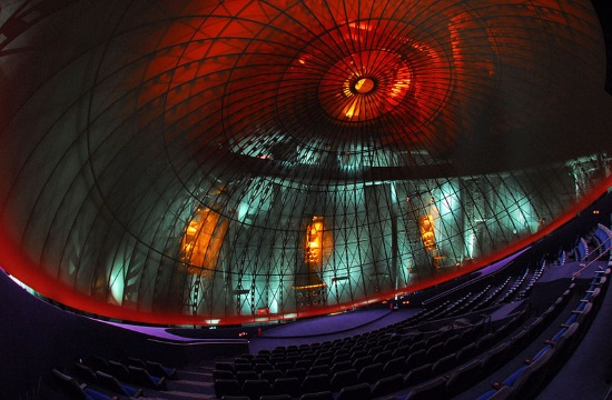 Athens Eugenides Foundation's planetarium unveils state of the art projection system