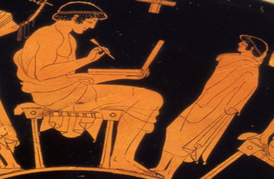 "Ancient Greek homework wax ""tablet"" presented at the British Library"