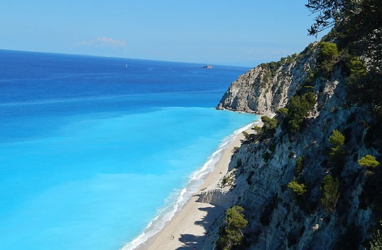 T+L: Egremni beach in Greece has most beautiful waters on the planet