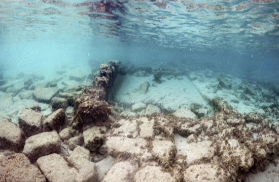 Submerged buildings found in ancient city and modern luxury resort of Crete