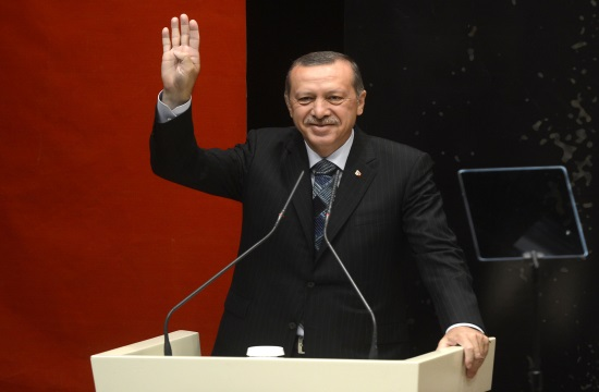 Official schedule of Turkish President's two-day visit to Greece