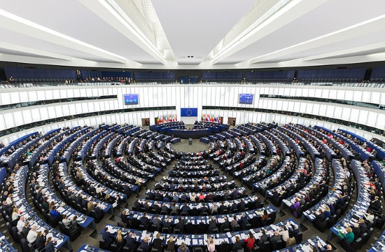 "Ηall in the European Parliament named after ""Konstantinos Mitsotakis"""