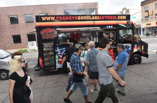 Greek souvlaki joint in Astoria finalist in the 14th Annual Vendy Awards