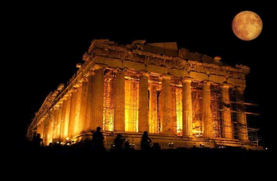 Full moon events at archaeological sites in Greece to conclude Sunday