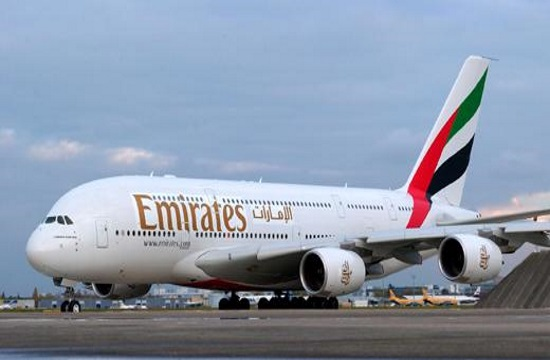 Emirates Airlines adds A380 Athens service in June 2018
