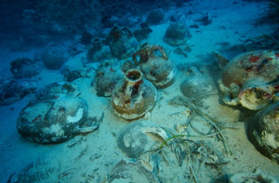More ancient wrecks and pottery discovered in Greek ships' graveyard