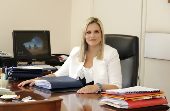 """Greek Tourism Secretary General Evridiki Kourneta resigns """"for reasons of political dignity and order"""""""