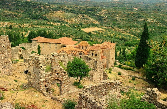 Greece's Mystras among CNN's top-10 medieval towns in the world