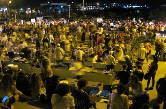 The 4th Gastronomy Festival in Kardamena of Kos island (video)