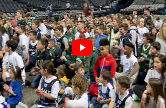 Greek fans cheer on Giannis and Thanasis Antetokoumpo at Barclays Center (videos)