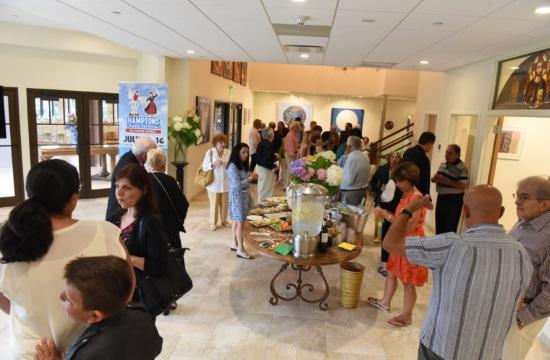 Art works for Greek Diaspora exhibit in the Hamptons, New York
