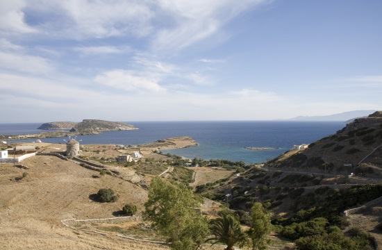 A virtual tour of the Greek island of Schoinousa in Lesser Cyclades