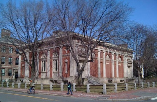 Harvard Library marks acquisition of Greek poet Gatsos archive