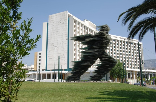 Greek artist and Culture minister in row over iconic 'Runner' sculpture