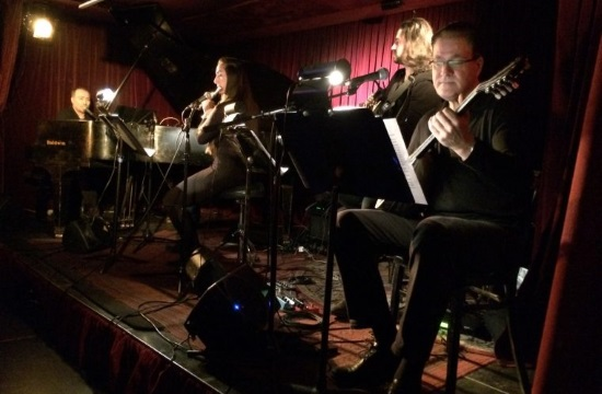 Kanaris and Synolon with special guest Tsachtani at NY Zinc Bar (video)