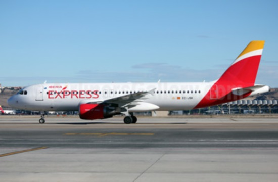 Madrid - Heraklion airline connection by Iberia Express