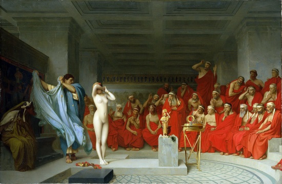History Tourism: Phryne, the Ancient Greek model who stripped for her freedom