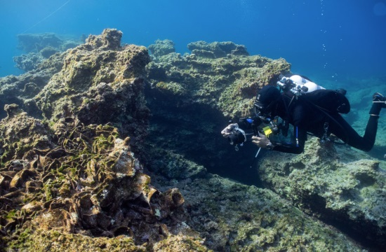 Five ancient Greek shipwrecks found off Aegean island of Kasos