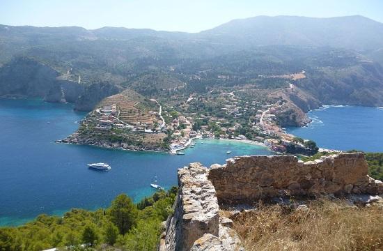 Religious Tourism: Panagia Fidiotissa church in Greek island of Kefalonia