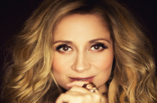 Lara Fabian performance in Athens on May 19, 2018