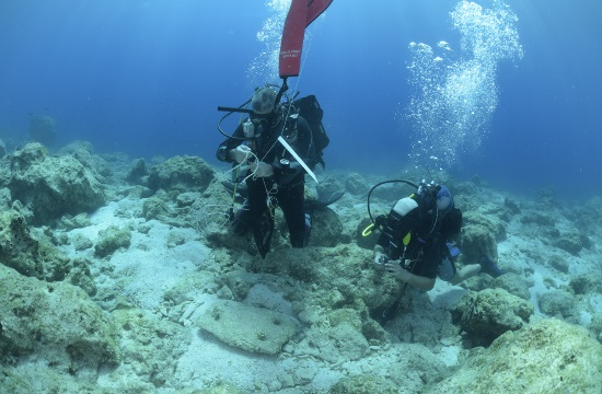 Underwater search off Naxos island coast yields rich finds