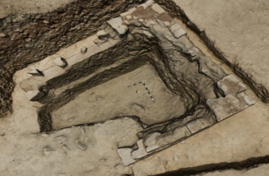 Mysterious structure discovered during excavations at the Laona tumulus in Cyprus