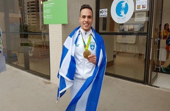 Olympic winner Lefteris Petrounias honoree in Navarino Challenge 2017