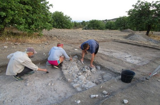 Rich Chalcolithic and Bronze Age finds at Cyprus Makounta Voules excavations