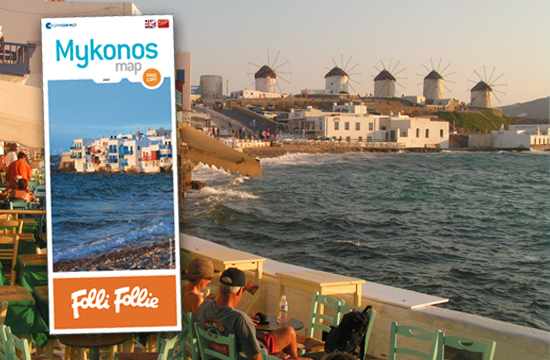 Tornos News Mykonos Map The daily companion of 125000 tourists