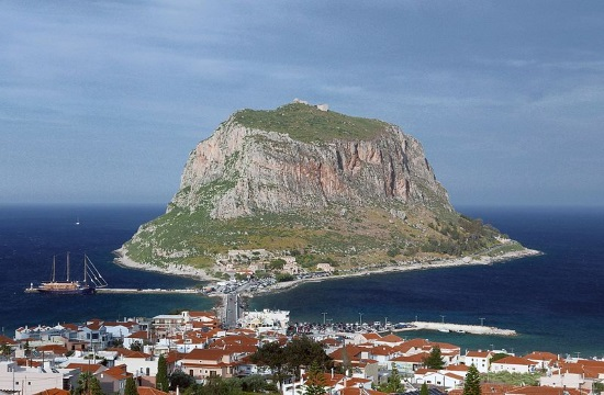 Travel report: The amazing Medieval Castle of Monemvasia in Greece (video)