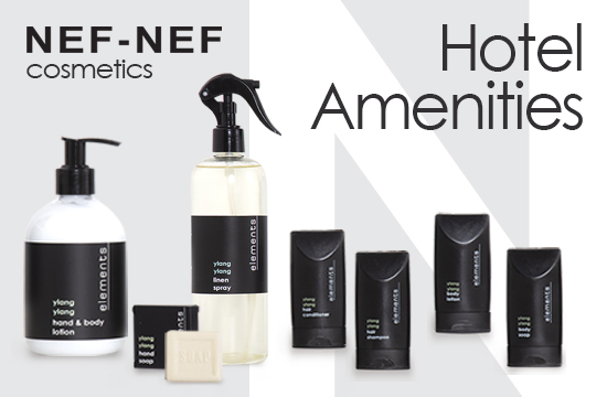 Hotel amenities by NEF-NEF