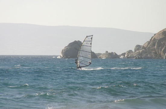 Special water sports experience on Greek island of Naxos (video)