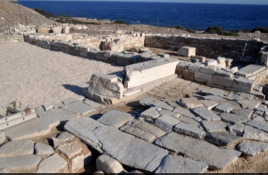 New 6th century BC finds by excavation works on Despotiko island in Greece