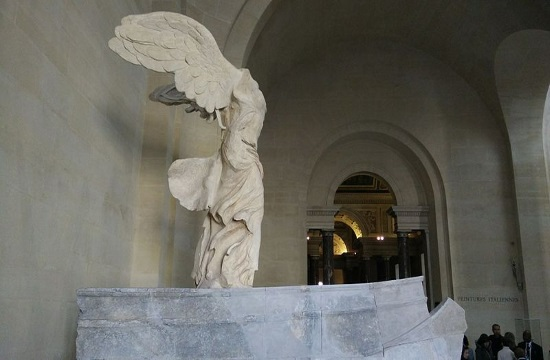 Nike of Samothrace replica in Alexandroupolis awaits transfer to home island in Greece