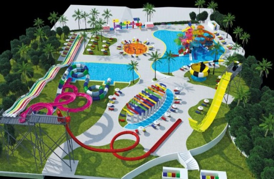Impressive Aqua Park at the Riviera Olympia Resort