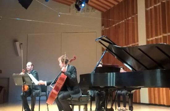 Greek Heritage Olympus Piano Trio make local debut in Reading, Pennsylvania