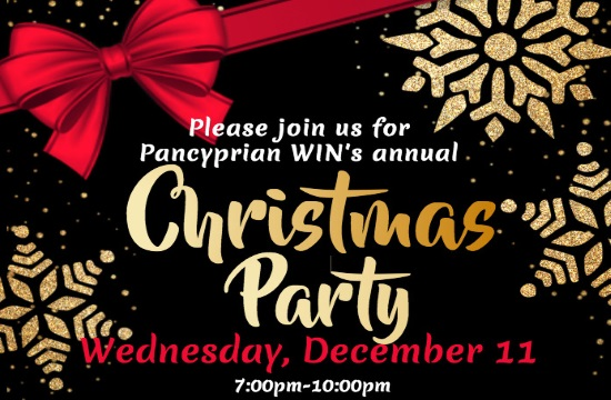 Pancyprian WIN's Christmas Party in Glen Cove of New York on December 11