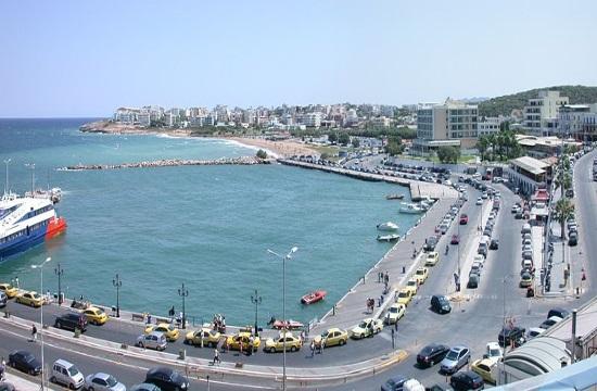 Passenger traffic rises in the Greek port of Piraeus