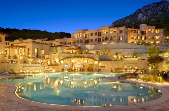 The Park Hyatt Mallorca was built in the style of a Mallorcan mountain ...