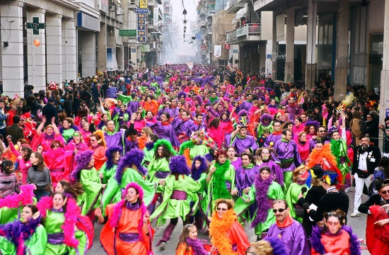 Patras Carnival Grand Parade concludes in riot of sound and colours (video)