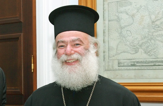 Greek PM receives Patriarch of Alexandria and All Africa Theodore II