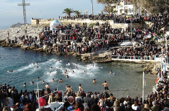 Greece celebrates Epiphany religious holiday rich in tradition