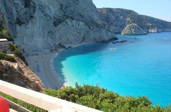 Stunning drone footage of Greek island of Lefkada