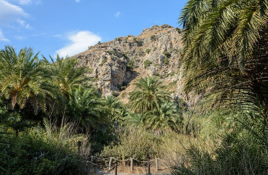 One of Europe's most exotic landscapes located on Crete island in Greece