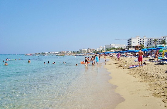 Sharp rise in Cyprus tourism revenue between January – October 2017