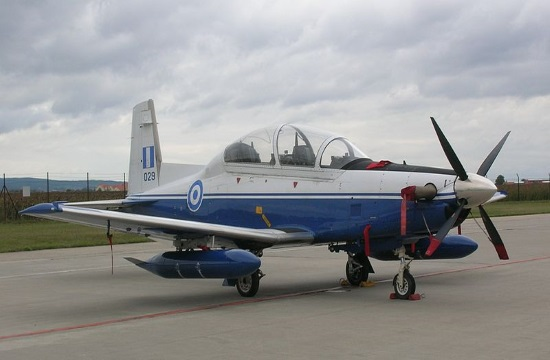 Greek Air Force T-2 aircraft crashes south of Kalamata with pilots unharmed